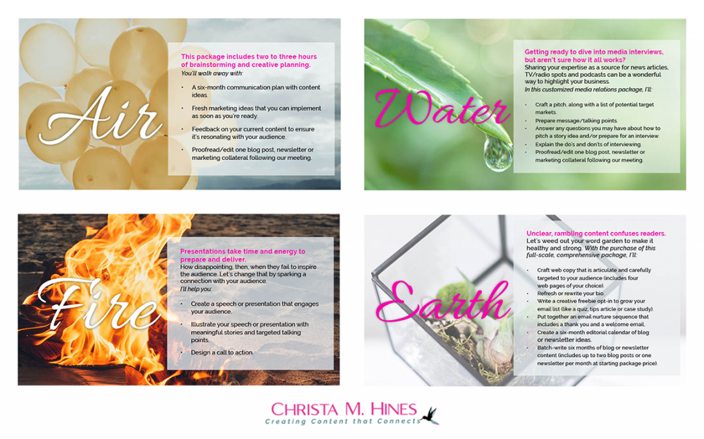 Christa M Hines Writing Packages _ PDF Downloadable_MGS