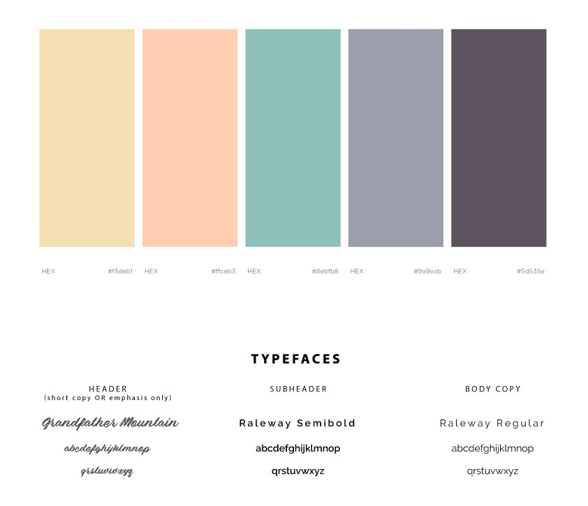 Brand Identity - Revised Colors