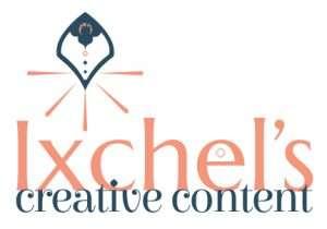 Ixchel's Creative Content logo created by Marisa Gonzales Studios