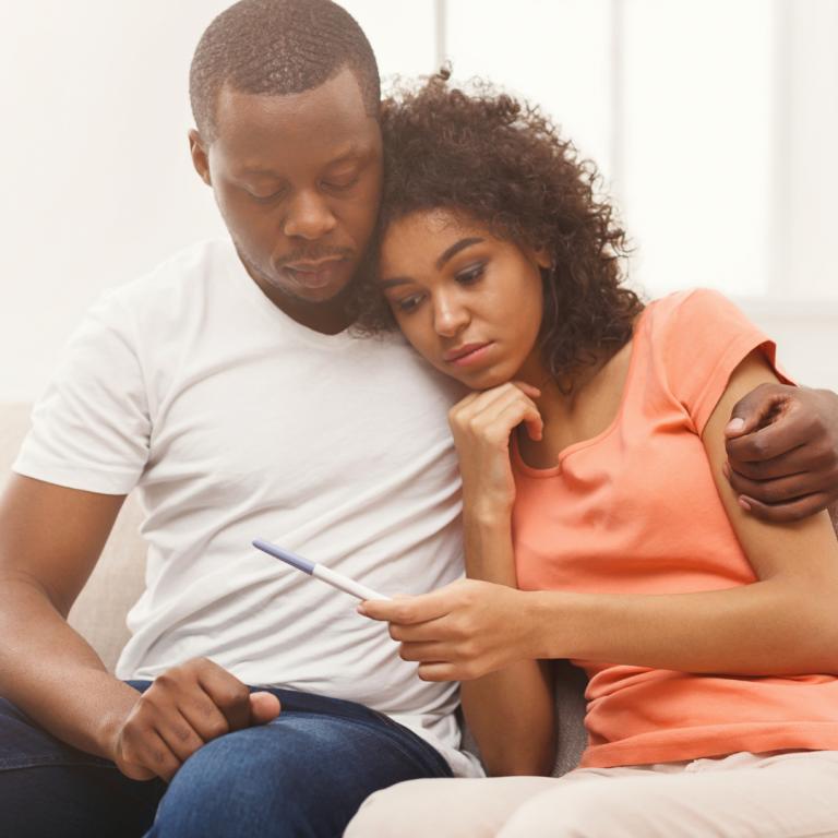 BlackCouple Experiencing Infertility