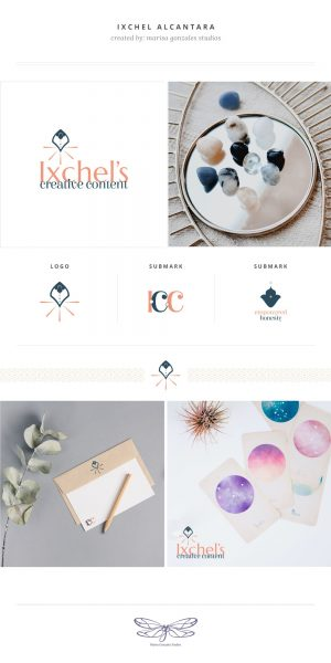 Ixchel's Creative Content - Brand Presentation by Marisa Gonzales Studios
